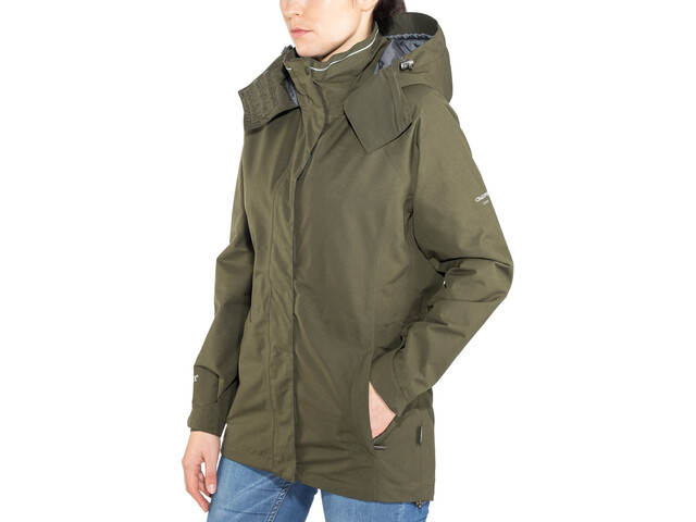 sneakers for cheap price reduced new concept Craghoppers Expert Kiwi GORE-TEX Jacket Women dark green